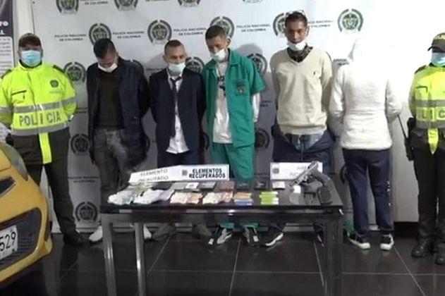 Capturan a cinco señalados de robar un bus del SITP en Bogotá