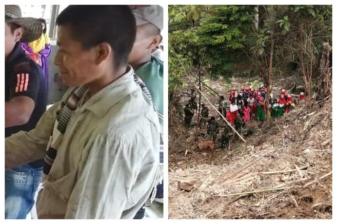 El cuerpo de Ernesto Jumí, de 32 años, solo pudo ser recogido cinco días después de su muerte debido a las condiciones climáticas y de seguridad en la zona.