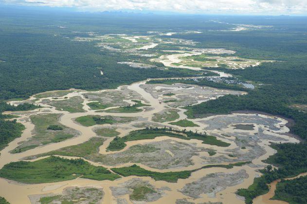En Colombia más del 50%  de la minería de oro de aluvión está en áreas protegidas
