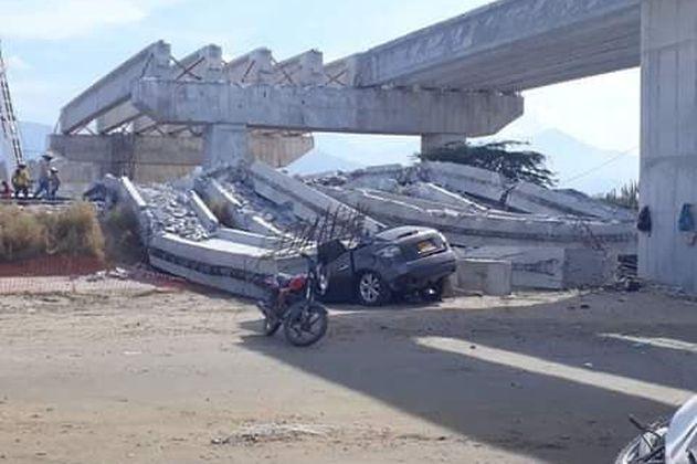 Se desplomó puente en Ciénaga, Magdalena