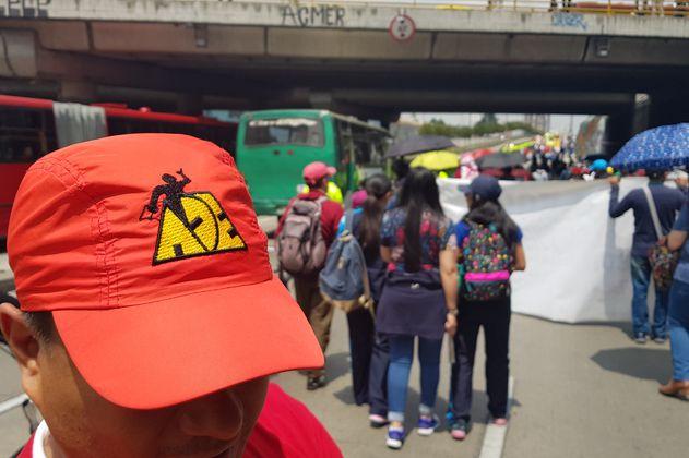 Este jueves 8 de julio habrá marcha de maestros en Bogotá