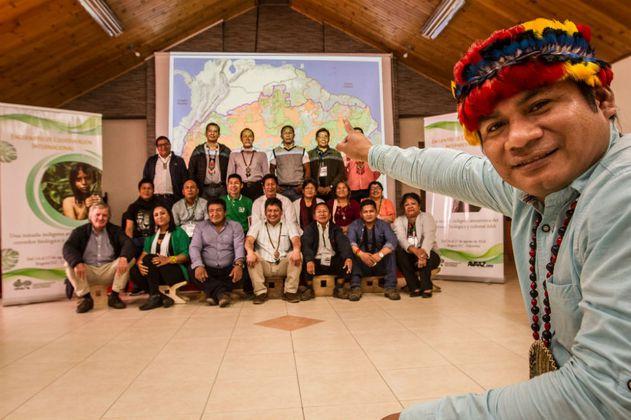 Indígenas amazónicos de nueve países anuncian alianza para salvar la selva
