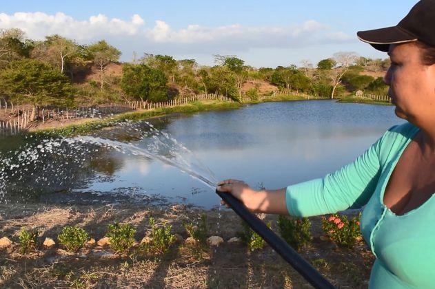 Jagüey y páramo, dos símbolos de agua y vida