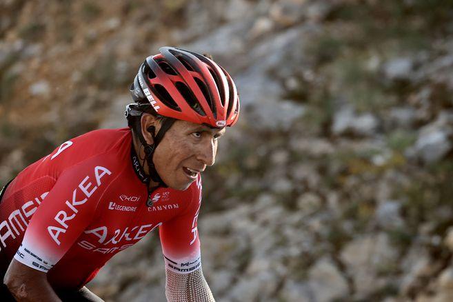 El ciclista colombiano del equipo Arkea-Samsic ocupa la casilla 17 de la clasificación general.