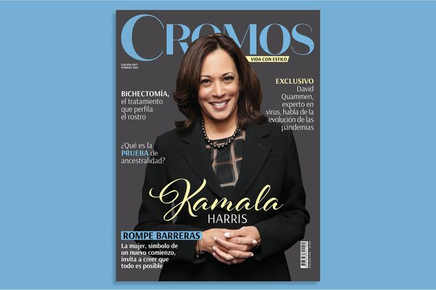Kamala Harris es protagonista en la nueva edición de Revista Cromos