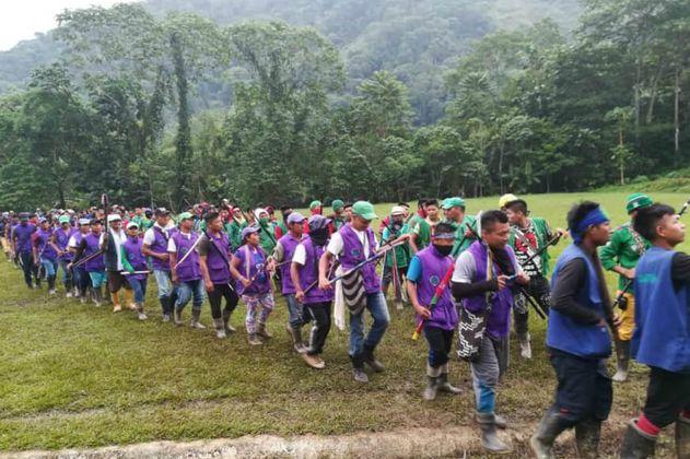 Indígenas suspenden mesa de diálogo con el Gobierno en La Delfina, Valle
