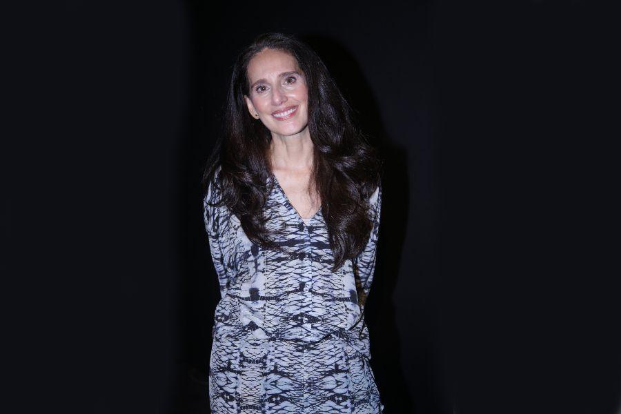 Beatriz Camacho se inspiró en amaneceres y atardeceres para su colección.