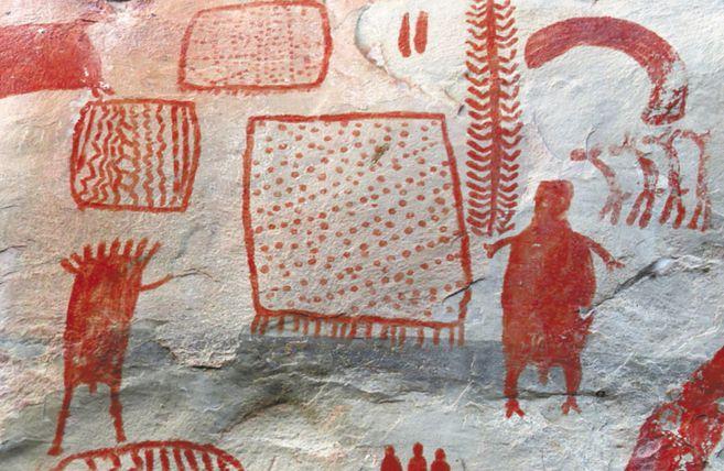 La población que vive en la serranía de La Lindosa conoce la importancia del patrimonio arqueológico y durante décadas lo ha protegido de la guerra, el turismo voraz y los acaparadores de tierra. / Jeison Lenis Chaparro-Cárdenas