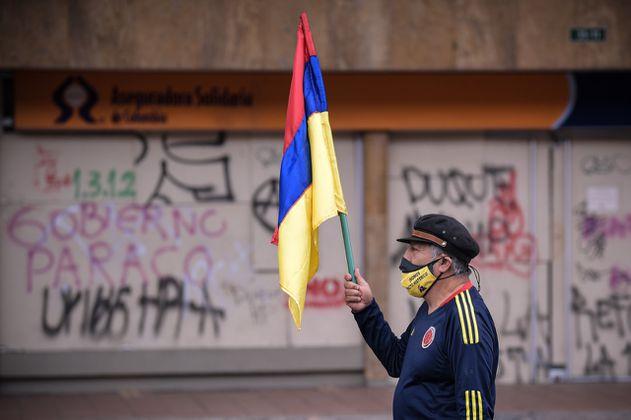 Pacíficas, así van las marchas de este 20 de julio en Bogotá
