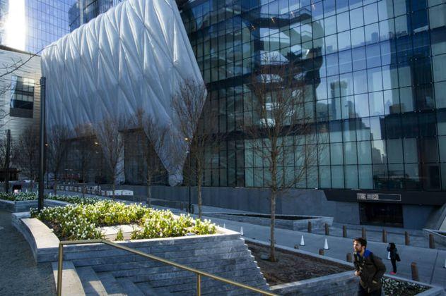 Así es el edificio sobre ruedas que causa revuelo en Nueva York