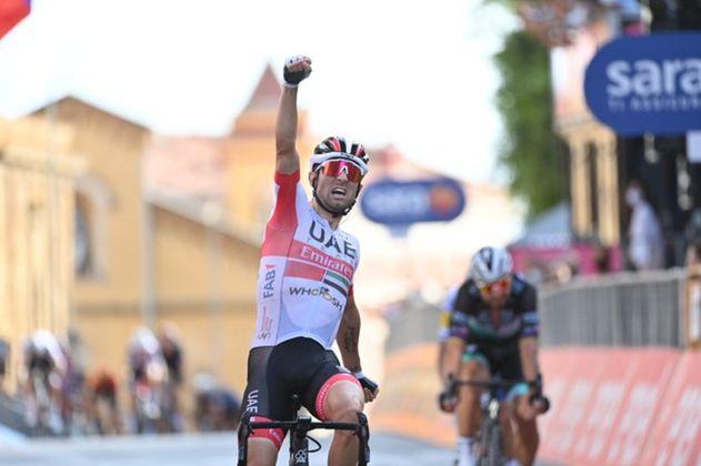 Ganó de local: Diego Ulissi se llevó la segunda etapa del Giro de Italia 2020
