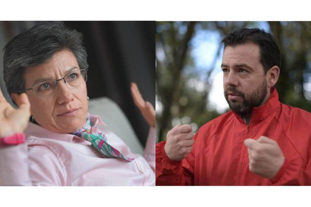 Nuevo choque entre Claudia López y Carlos F. Galán por Corredor Verde de la Séptima