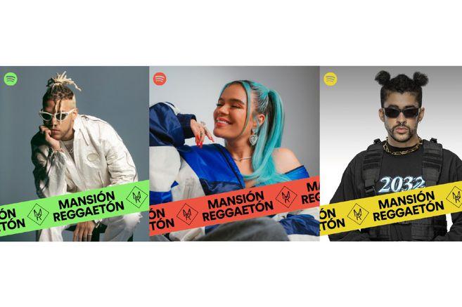 Mansión Reguetón tiene a artistas como Karol G y Bad Bunny. Esta es la playlist editorial de Spotify más escuchada en Latinoamérica.