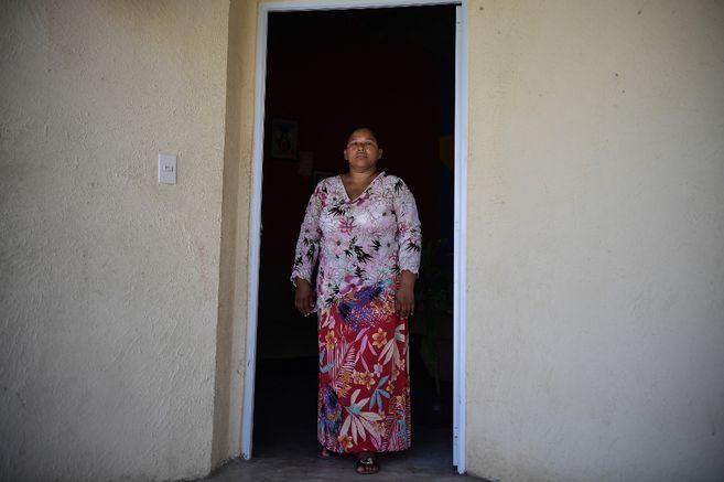 El Gobierno le entregó a Marisol una casa en Ponedera por ser víctima de desplazamiento forzado y en los últimos años se ha dedicado a decorarla a su gusto.