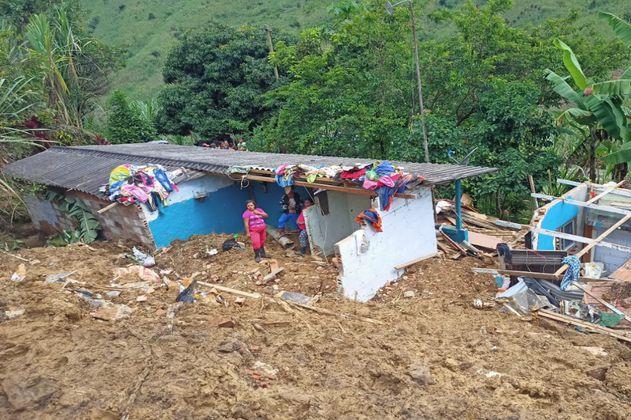 Cuatro personas han perdido la vida durante la primera temporada de lluvias en Antioquia