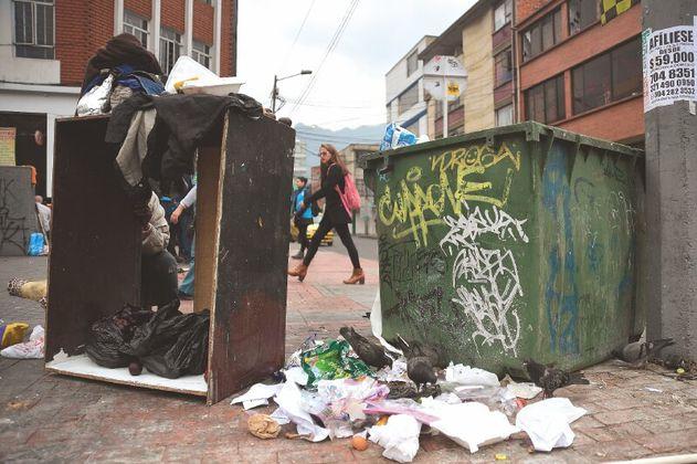 Las condiciones que exigen los recicladores de Bogotá