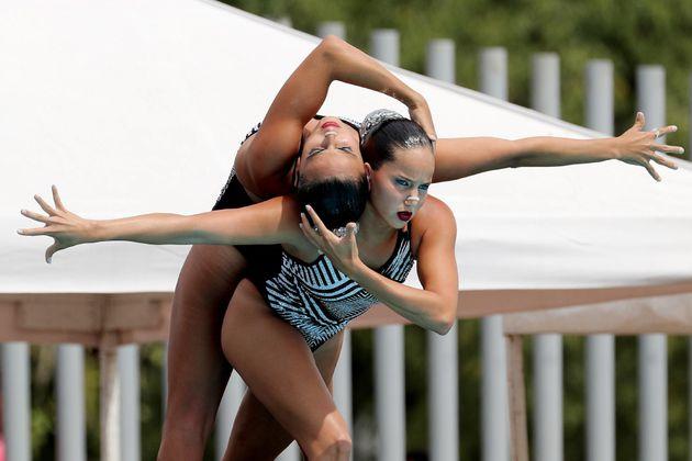 A ritmo de salsa: ¡Colombia logró nuevo cupo a los Olímpicos en Natación artística!
