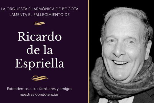 Homenaje a la vida y obra de don Ricardo de la Espriella
