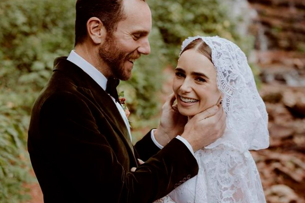 Así fueron las bodas de Lily Collins, Andrea Tovar y más famosas en el 2021