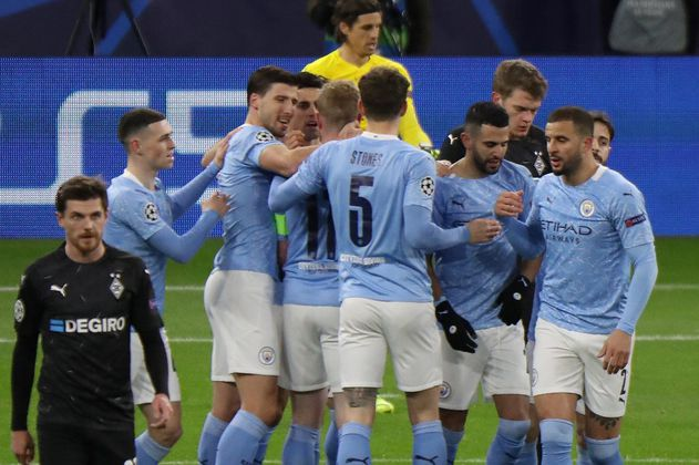 Manchester City confirmó su clasificación a los cuartos de la Champions