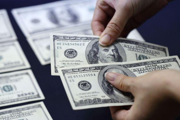 Inicio, variaciones y cierre del precio del dólar en Colombia, hoy 7 de julio
