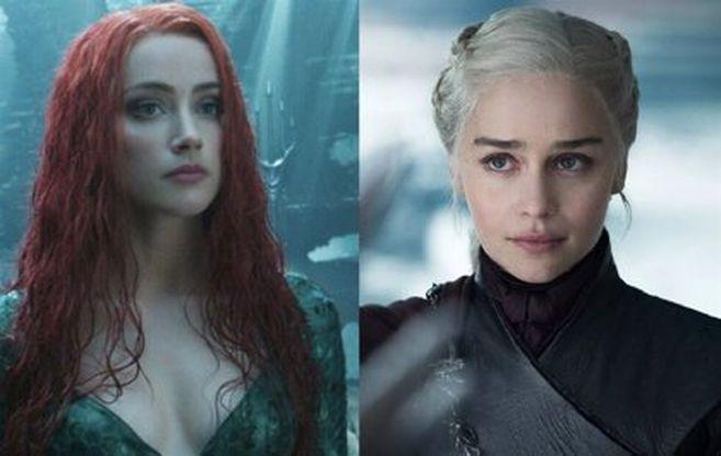 "Emilia Clarke sustituirá a Amber Heard en ""Aquaman 2"", según Forbes | EL  ESPECTADOR"