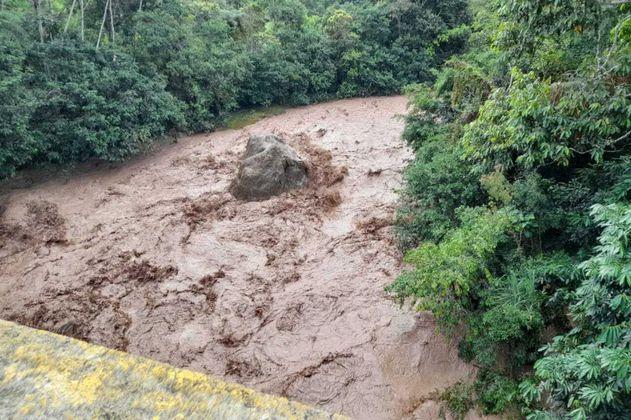 Derrumbe por lluvias dejó dos personas muertas en Pereira