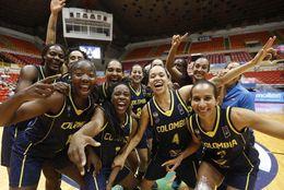 ¡Victoria de Colombia! Buen inicio de la selección femenina en la FIBA Americup