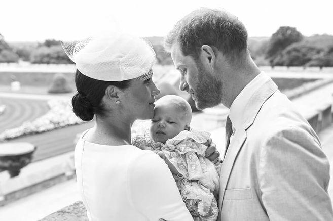 El primer hijo de Meghan y Enrique se llama Archie Harrison Mountbatten-Windsor. / AFP