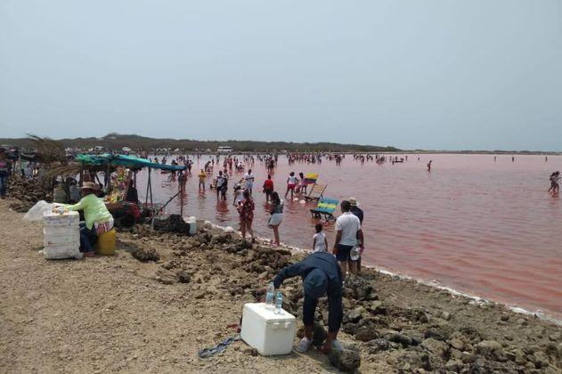 """Los intereses en juego por """"el mar rojo"""" de salinas de Galerazamba"""