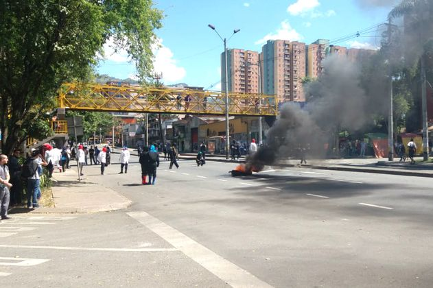 Por disturbios se suspenden actividades en la Universidad de Antioquia