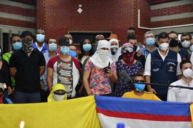 Mesas de diálogo en Cali: primeros acuerdos sobre garantías para la protesta