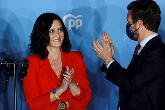 La derecha gana en las elecciones de Madrid con Isabel Díaz Ayuso