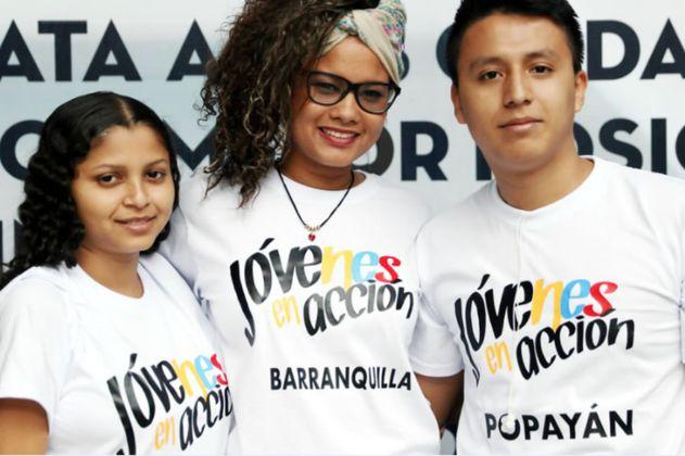 Jóvenes en Acción: este miércoles arranca primera entrega de incentivos