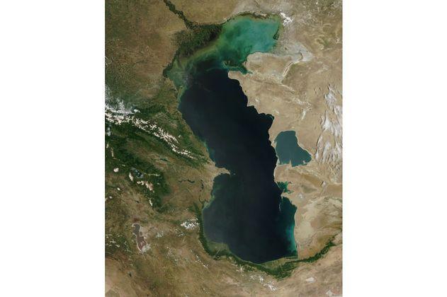 El lago más grande del mundo se está secando