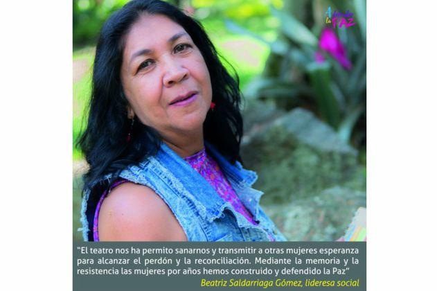 Las mujeres que llaman ¡A defender la paz!