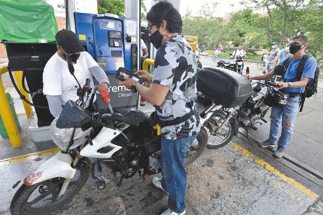 Los problemas de combustible durante el paro nacional