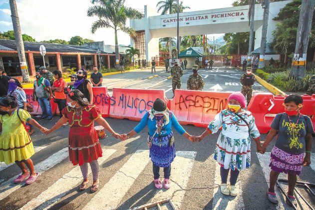 La justicia de las indígenas