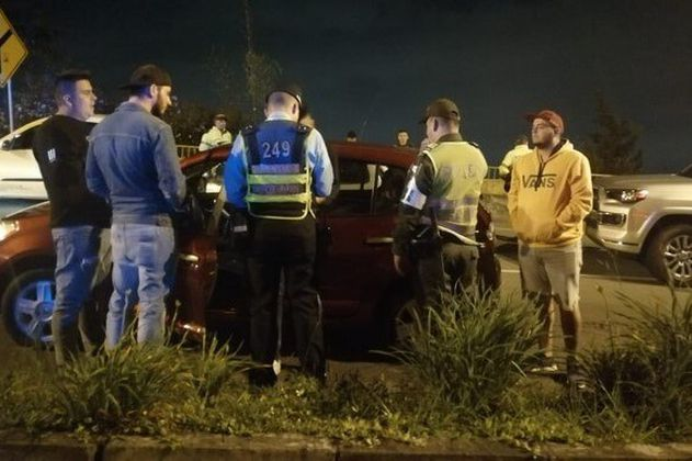 Autoridades realizan nuevo operativo contra piques en la vía Las Palmas, en Medellín