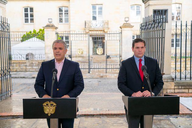 Así encuentra la relación entre EE. UU. y Colombia el nuevo embajador en Washigton