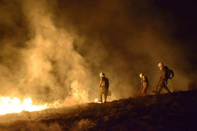 Se mantiene alerta por incendios forestales en 127 municipios del país