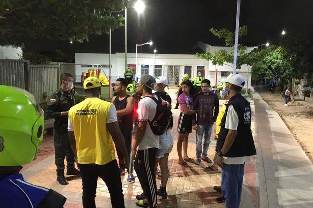 Policía de Barranquilla impuso más de 4.000 comparendos durante la Semana Santa