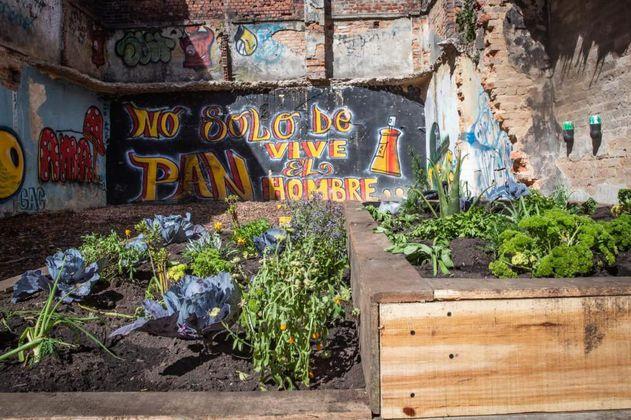 """""""La fortaleza"""", la olla que ahora será una huerta urbana en Bogotá"""