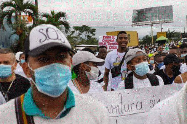 Alexánder López le pide al presidente Duque hacer presencia en Buenaventura