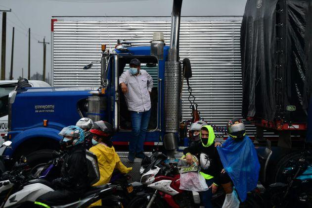 Estas son las vías de Cundinamarca que tienen bloqueos este 11 de mayo