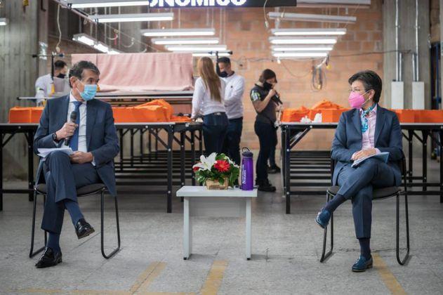 Distrito y Mintrabajo financiarán 80 % del salario de jóvenes y mujeres en Bogotá