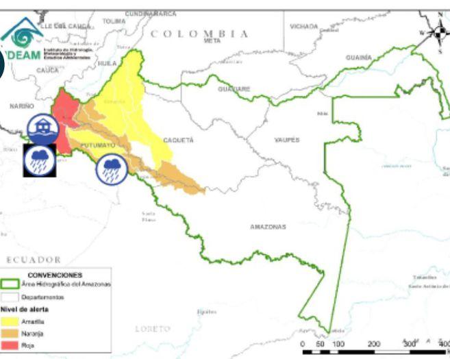 Autoridades de Mocoa activan alarma de evacuación por creciente súbita del río   EL ESPECTADOR