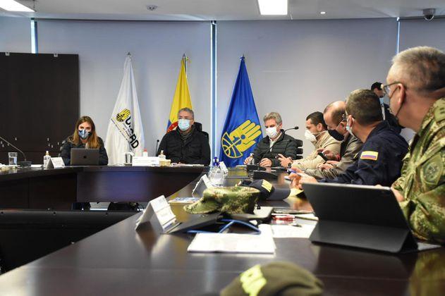 """""""Hay respuesta institucional, estaremos llegando"""": Duque sobre Iota en Providencia"""