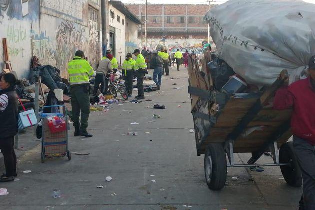 Adelantan nueva intervención en el barrio María Paz, en Bogotá