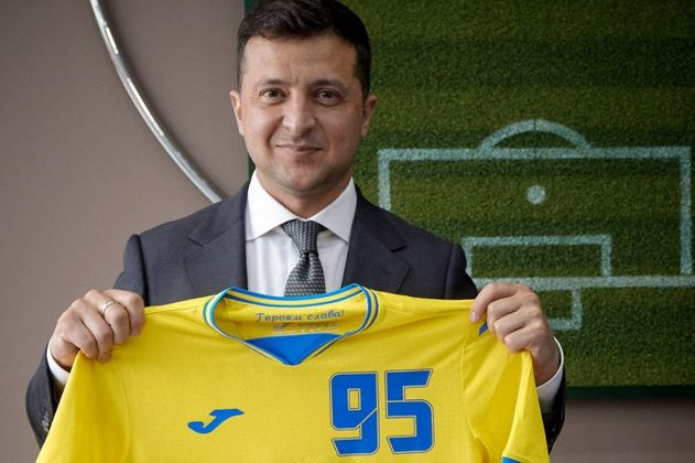¿Cómo la camiseta de la Selección de Ucrania creó una nueva crisis diplomática con Rusia?